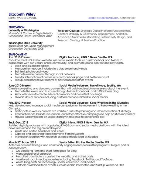 elizabeth wiley s resume
