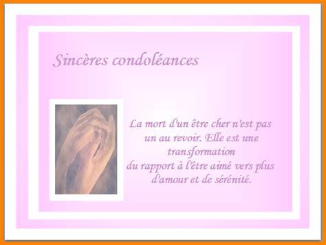 Exemple De Lettre Condoleance 7 Carte De Condoleances Exemple Lettre