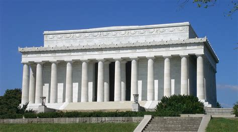 where is the lincoln memorial located in washington dc lincoln memorial thinglink