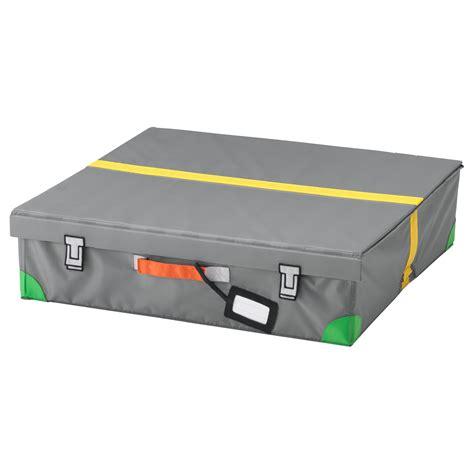 ikea storage box flyttbar bed storage box grey 58x58x15 cm ikea