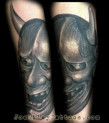 tattoo parlor henderson nv japanese hanya mask tattoo by joe riley tattoonow