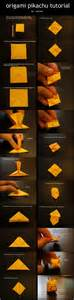 Origami Awesome - make your own an awesome origami pikachu