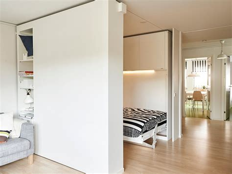 Ikea Movable Walls by Ikea Built A Moveable Wall To Help People Live Big In Tiny