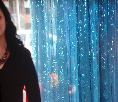 blue glitter curtains sheer sparkly curtain instead of door beads home