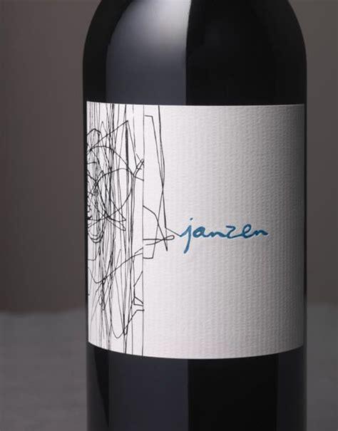 wine label design napa valley janzen wine bacio divino cellars cloudy vineyard wine