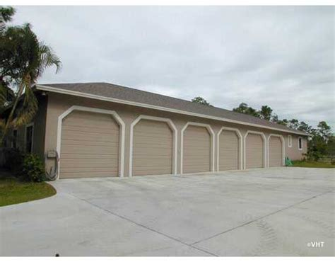 six car garage 6 car garage home close to the palm beach international