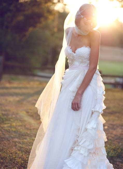 Handcrafted Wedding - handmade wedding dresses etsy bridal gown bohemian