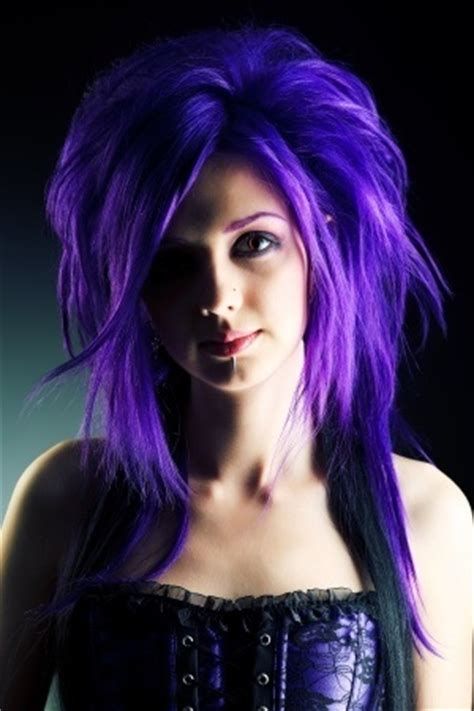 crazy hair color ideas hairstyle ideas magazine crazy cool hair color ideas wild violet sophisticated