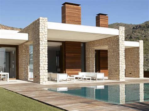 modern exterior interior exterior ideas for villa plans