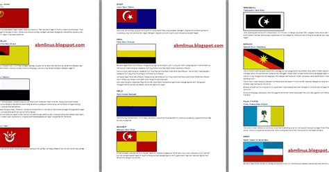 2 Di Malaysia abm linus bendera negeri negeri di malaysia
