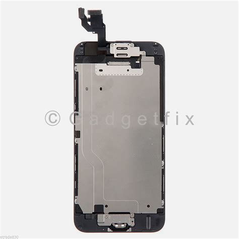 Lcd Screen Iphone 6 black lcd touch digitizer screen home button front