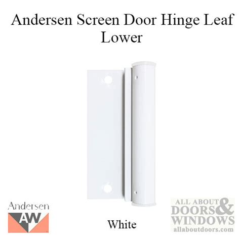 screen door white hinge rail andersen door hinges amazing door replacement