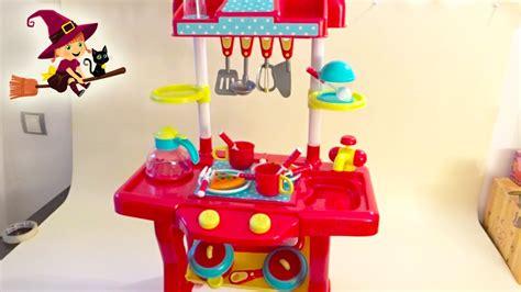 juegos para cocinar para ni os cocina de juguete para ni 241 as youtube
