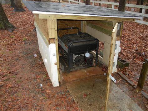 generator shed plans   build diy blueprints