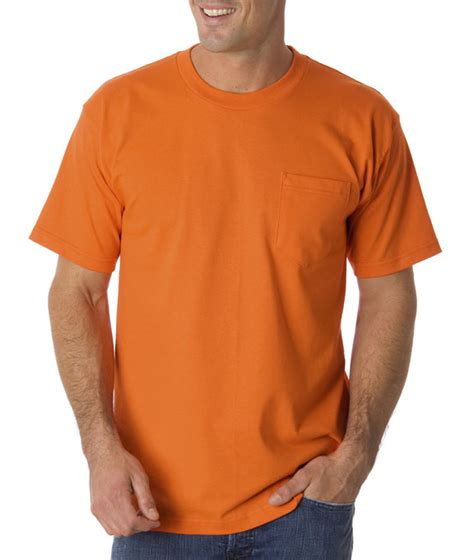 Buys Safer Shirt by Wholesale Blank 1725 Bayside Pocket Safety T Shirt