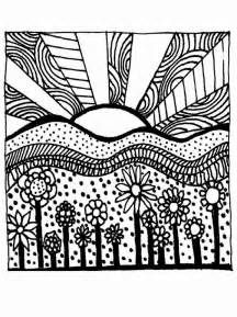 coloring pages for adults abstract flowers coloring sheets free coloring sheet