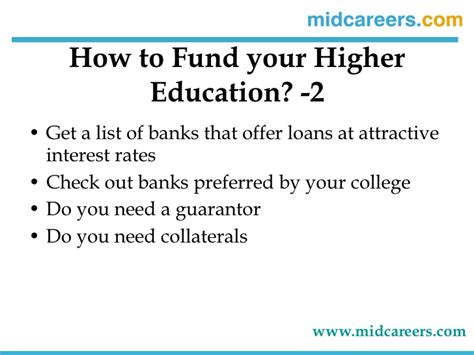 How To Get Education Loan For Mba by Everyone S Guide To Mba Education Loans For Working