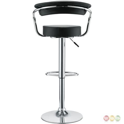 bar stools set of 3 set of 3 diner modern vinyl upholstered low back bar stool