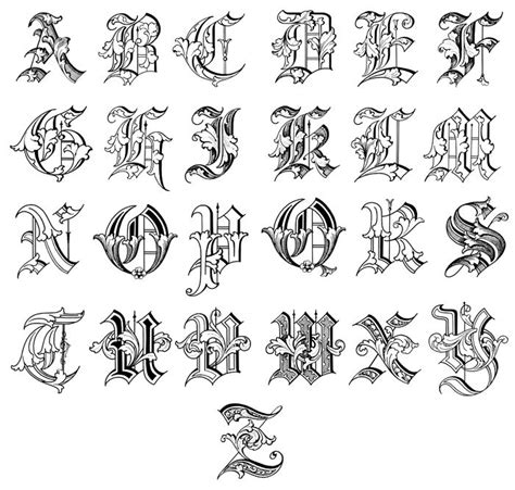 tattoo designs alphabet a creative lettering ideas lettering alphabet letras
