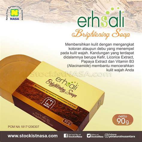 Collagen Soap Nasa erhsali brightening soap sabun transparan kefir nasa