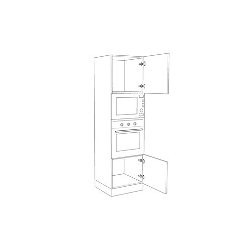 forno per cucina componibile cln060i colonna forni per cucina componibile arredaclick