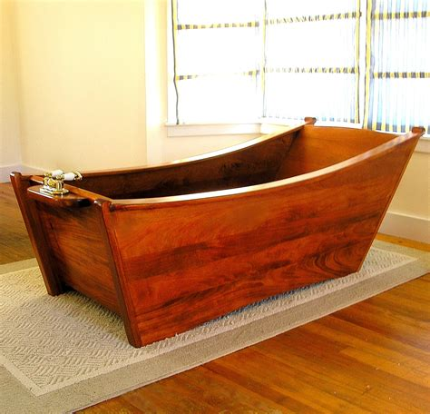 How To Make Wooden Bathtub by 22 Modern And Rustic Wooden Bathtubs Furniture Home Design Ideas