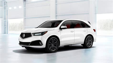acura mdx a spec looks sportier lacks the extra power