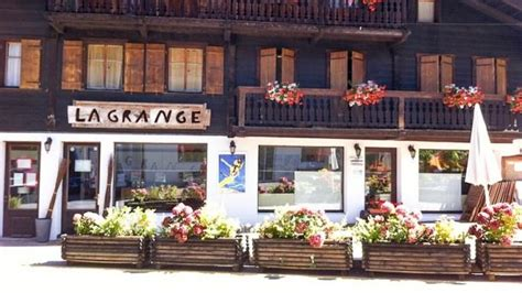 La Grange Restaurant by La Grange In Les Diablerets Restaurant Reviews Menu And