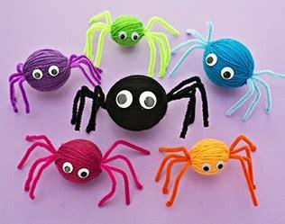 yarn spider craft  wonderful