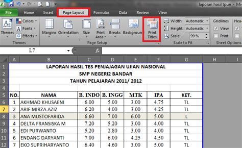 membuat header di excel 2010 nurhamim s blog tips ms excel 2010 cara membuat header