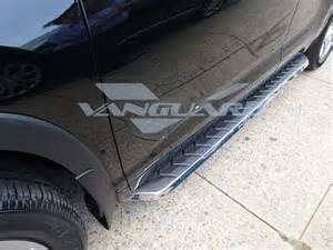 acura mdx aluminum running board side step nerf bar set