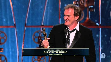 film did quentin tarantino won oscar quentin tarantino wins original screenplay 2013 oscars