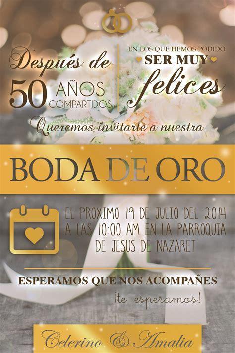 Boda de Oro   Invitations   Pinterest   50 anniversary