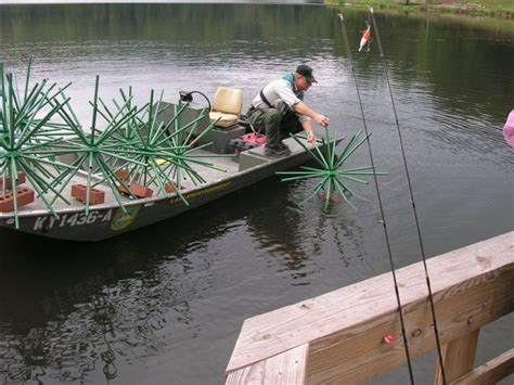 crappie beds using artificial attractors for homemade fishing honey