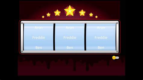 powerpoint slot machine  random  selection youtube