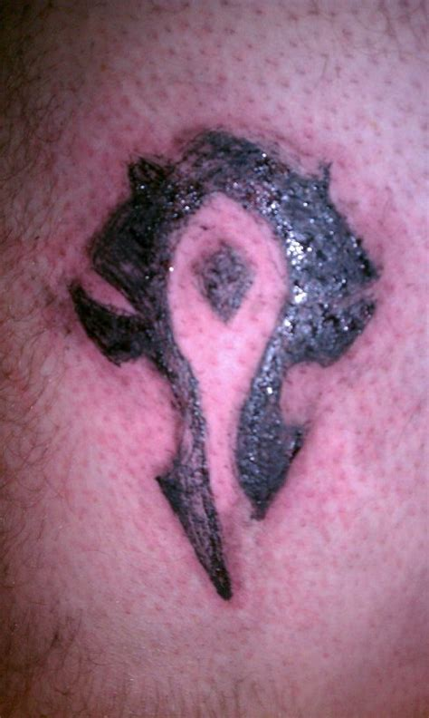 horde tattoo horde symbol by the missing on deviantart