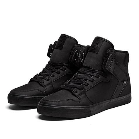 supra vaider s sneakers in black s28192 rcs