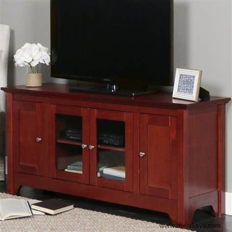 Tv Warna meja tv warna merah toko meja kayu