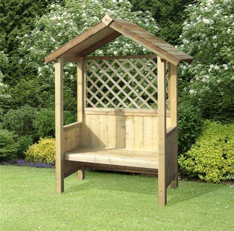 garden arbour swing seat garden seat artemis fixed seat arbour
