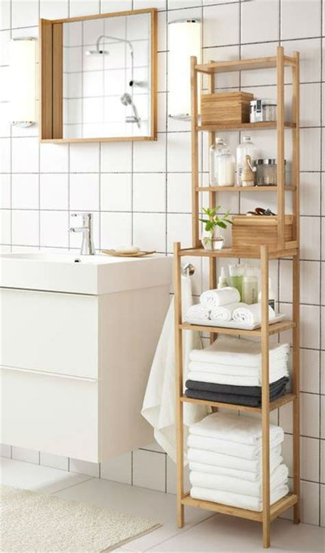 Shelving Units For Bathrooms Best 25 Ikea Bathroom Storage Ideas On Pinterest