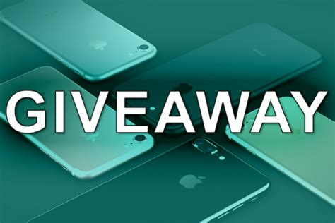 Free Iphone Giveaways - iphone 7 giveaway roundreviews