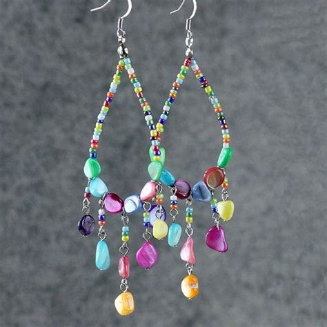 Handmade Earring Ideas - 879 best jewelry diy earrings 2 images on