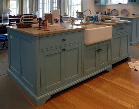 cooking island painted kitchen islands