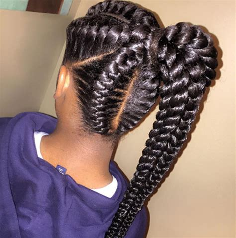 Goddess Braids Going Up | 10 coiffures de d 233 esses 224 tester sur cheveux cr 233 pus