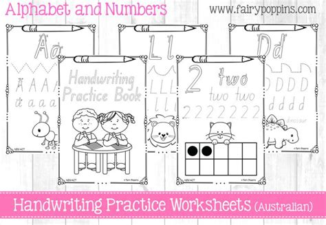 nsw foundation handwriting printable worksheets handwriting practice book in all australian state fonts