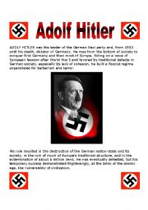 adolf hitler biography in english pdf english worksheets adolf hitler and the nazi party