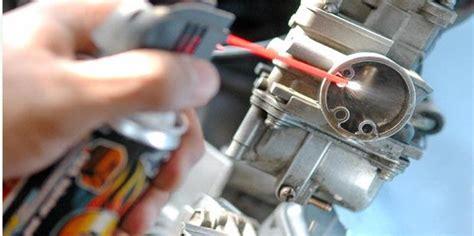 Pembersih Karbu harga motor bekas hati hati bongkar karburator jangan keseringan