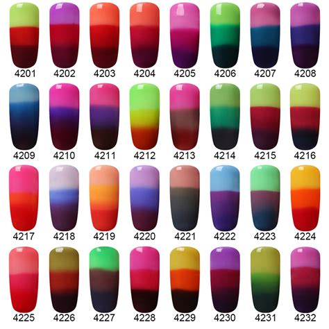 changing color nails 3 in 1 color changing nail peel nail gel