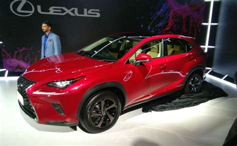 lexus hybrid suv price lexus nx 300h hybrid suv debuts in india to be priced