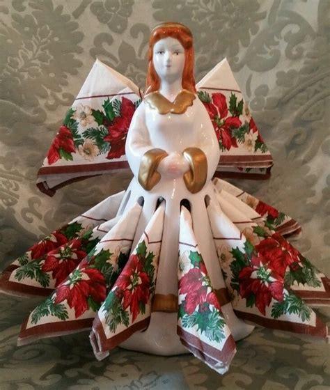 porcelain doll napkin holder 105 best napkin images on vintage linen